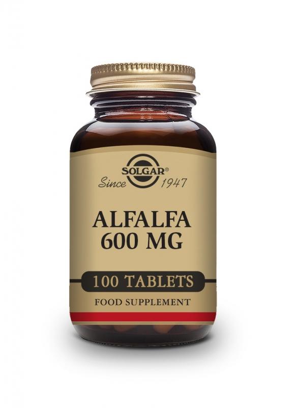 Produkty - Solgar Alfalfa 600mg 100 tbl