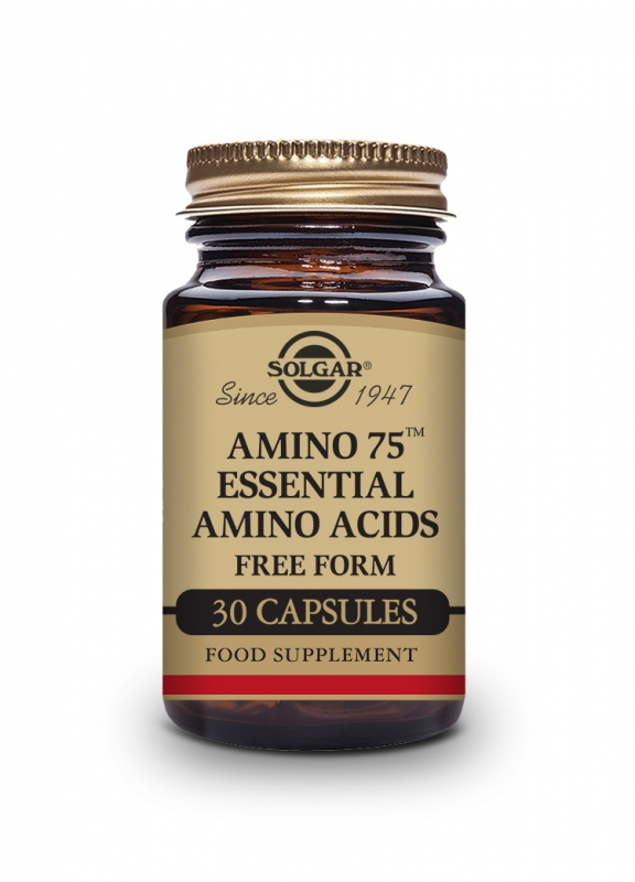 Produkty - Solgar Amino 75 - aminokyseliny - 30 cps