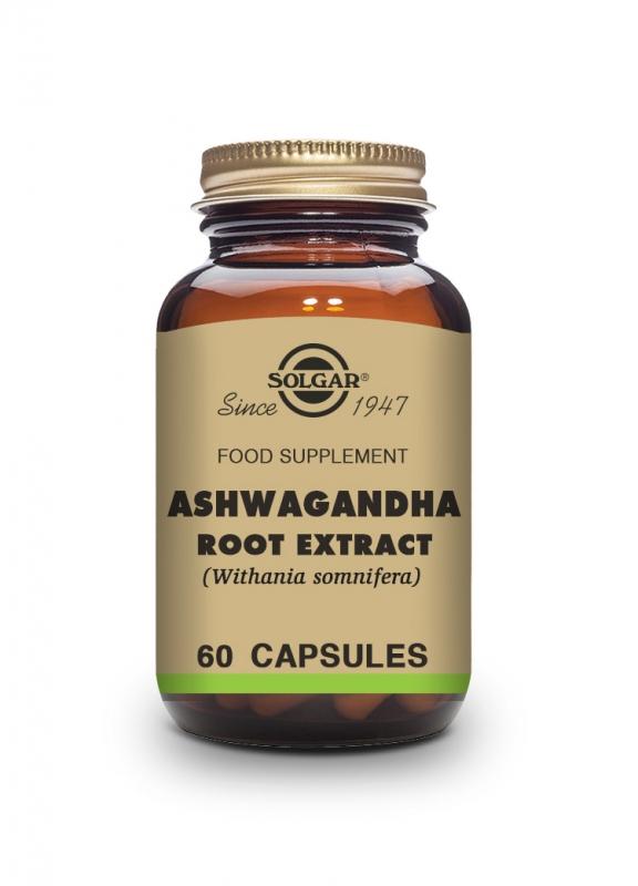 Produkty - Solgar Ashwagandha 60 cps