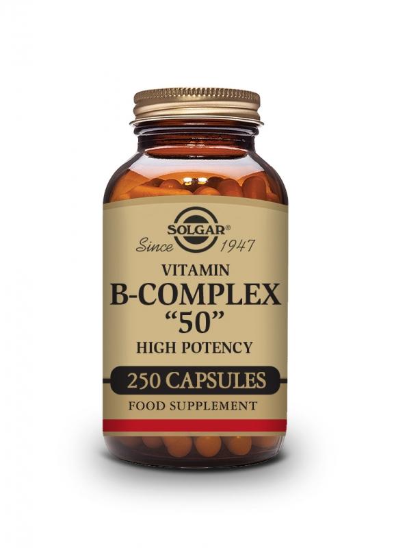 Produkty - Solgar B-komplex 50 - 250 cps