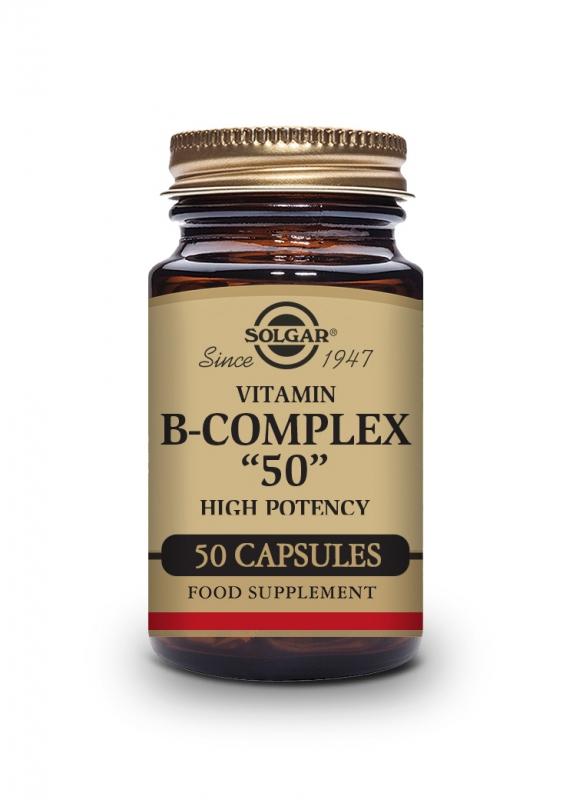 Produkty - Solgar B-komplex 50 - 50 cps