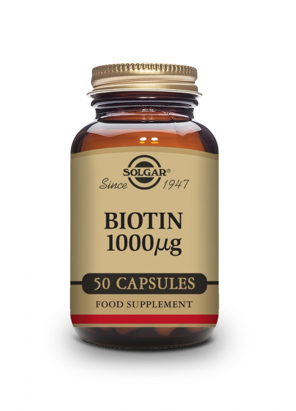 Produkty - Solgar Biotin 1000 mcg 50 cps