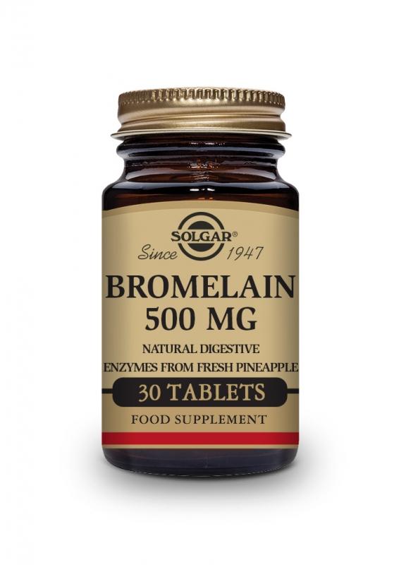 Produkty - Solgar Bromelain 500mg 30 tbl