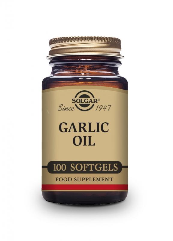 Produkty - Solgar Česnekový olej - bez zápachu 100 cps
