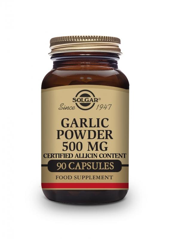 Produkty - Solgar Česnekový prášek 500 mg 90 cps