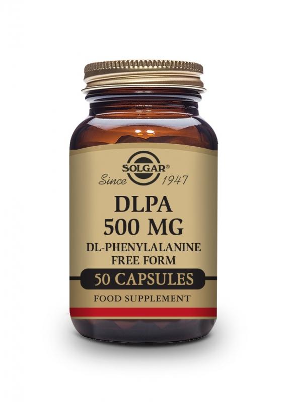 Produkty - Solgar DLPA 500mg 50 cps