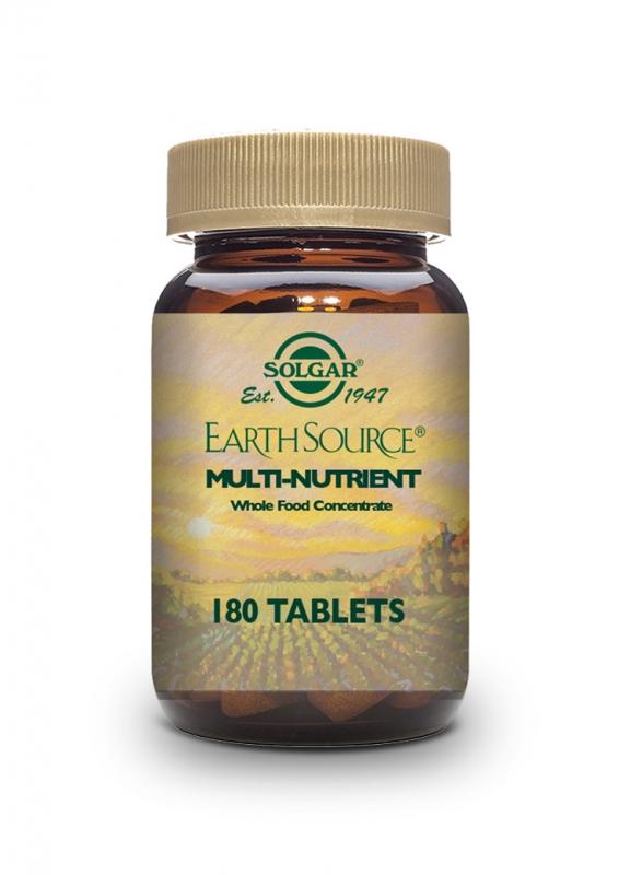 Produkty - Solgar EARTH SOURCE – zdroj přírodních živin 180 tbl