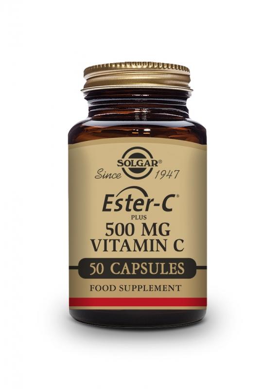 Produkty - Solgar Ester-C Plus 500 mg 50 tbl