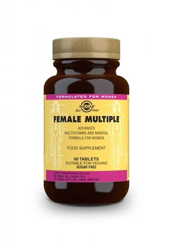Produkty - Solgar Female Multiple 60 tbl