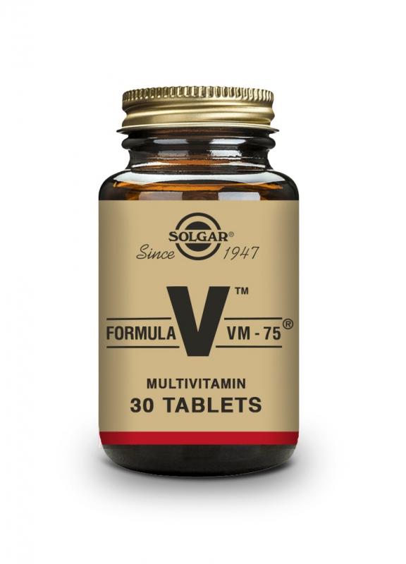 Produkty - Solgar Formule VM-75 - jednička mezi multivitamíny 30 tbl