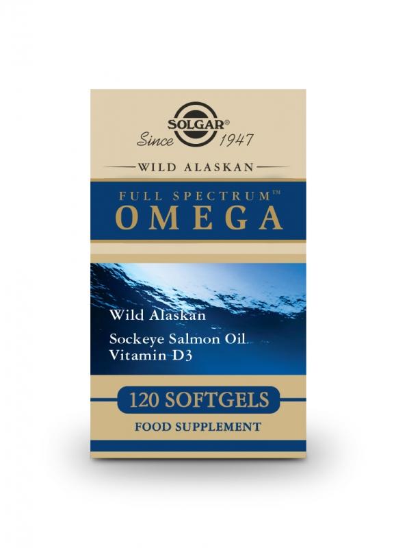 Produkty - Solgar Full Spectrum Omega 120 cps