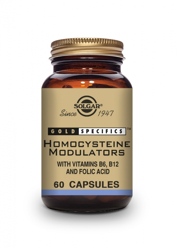 Produkty - Solgar Gold Specifics Homocystein Modulátor 60 cps