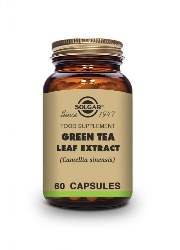 Produkty - Solgar Green tea – Zelený čaj 60 cps