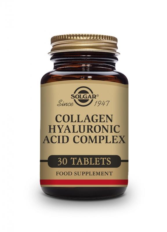 Produkty - Solgar Kolagen a kyselina hyaluronová 30 tbl