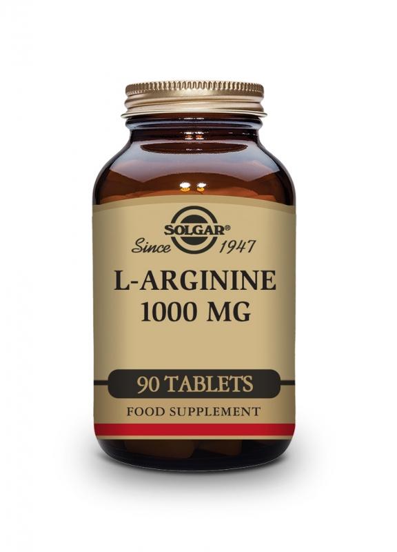 Produkty - Solgar L-Arginin 1000 mg 90 tbl
