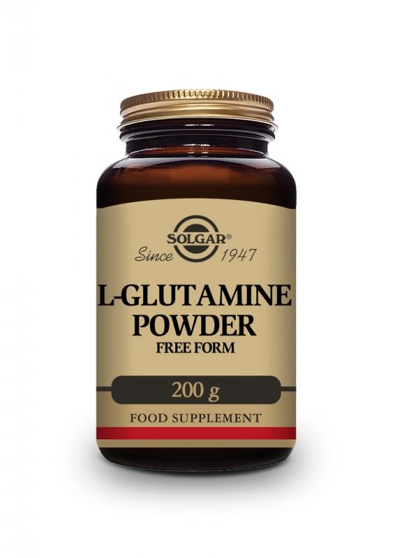 Produkty - Solgar L-Glutamin prášek 200 g