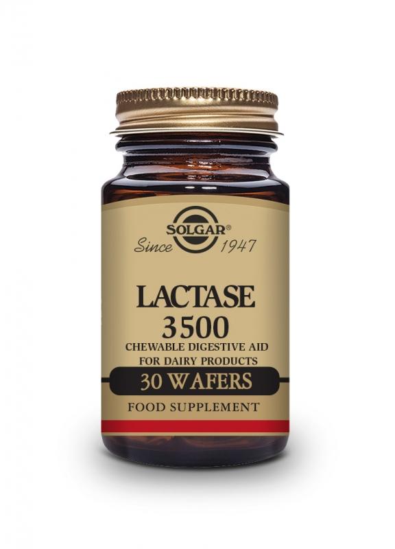 Produkty - Solgar Laktáza 3500 - 30 tbl