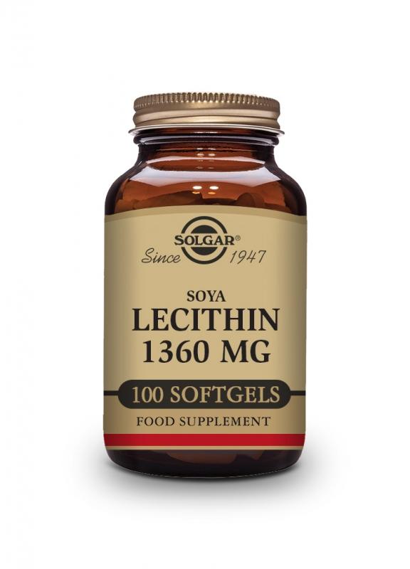 Produkty - Solgar Lecitin 1360mg 100 cps