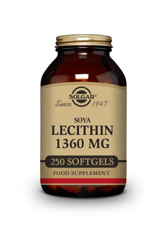 Produkty - Solgar Lecitin 1360mg 250 cps