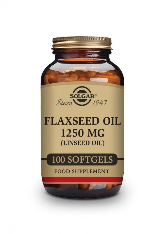 Produkty - Solgar Lněný olej 1250 mg 100 cps