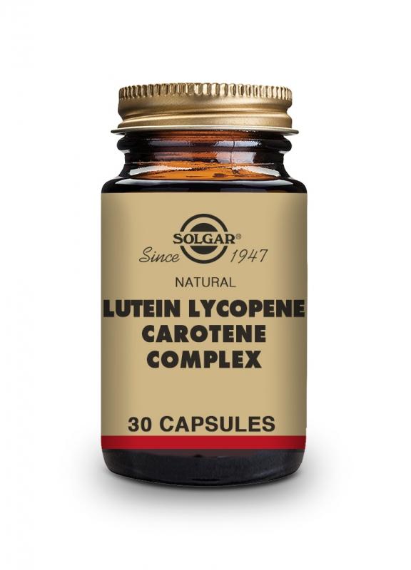 Produkty - Solgar Lutein Lykopen Karoten komplex 30 cps