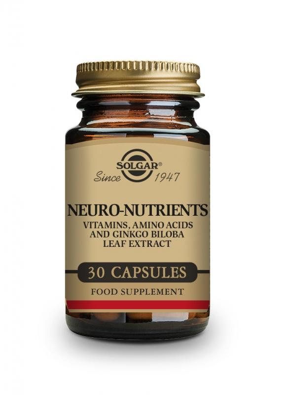 Produkty - Solgar Mozkové nutrienty 30 cps