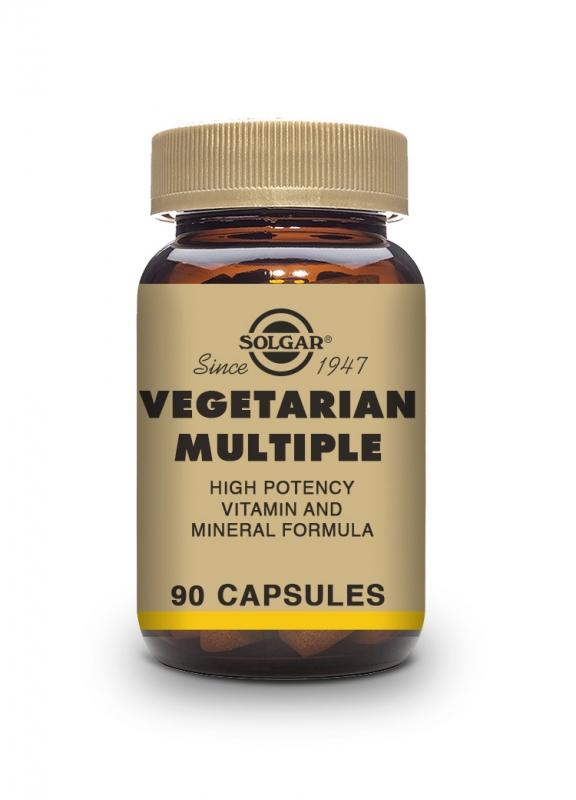 Produkty - Solgar Multivitamín pro vegetariány 90 cps