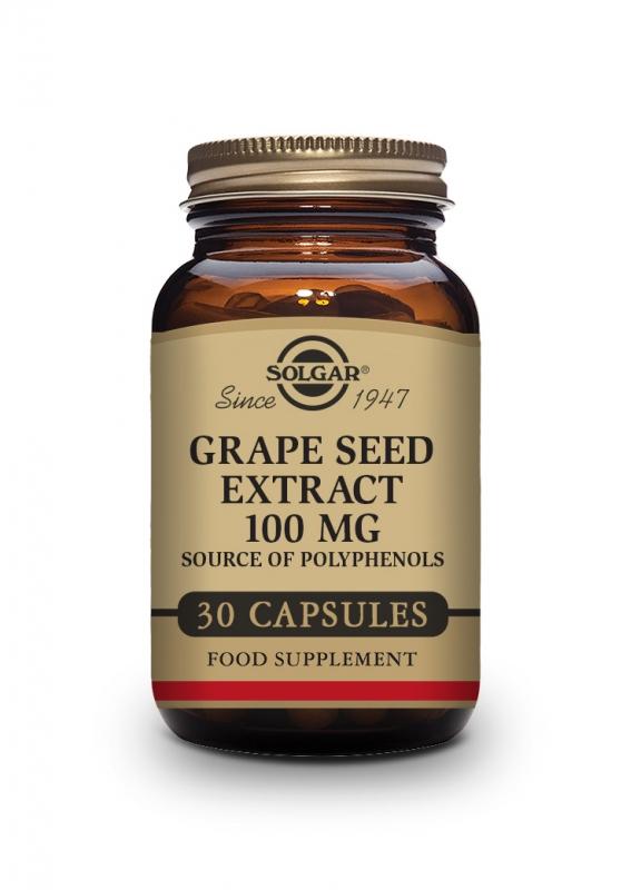 Produkty - Solgar Olej z hroznových semínek 30 cps