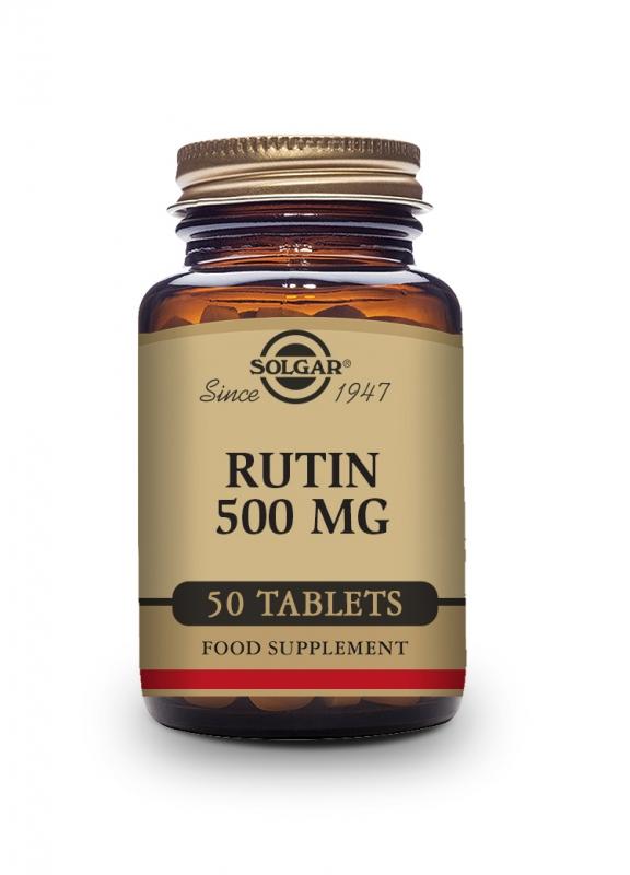 Produkty - Solgar Rutin 500 mg 50 tbl