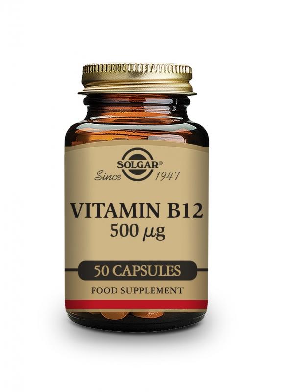 Produkty - Solgar Vitamín B12 50 cps