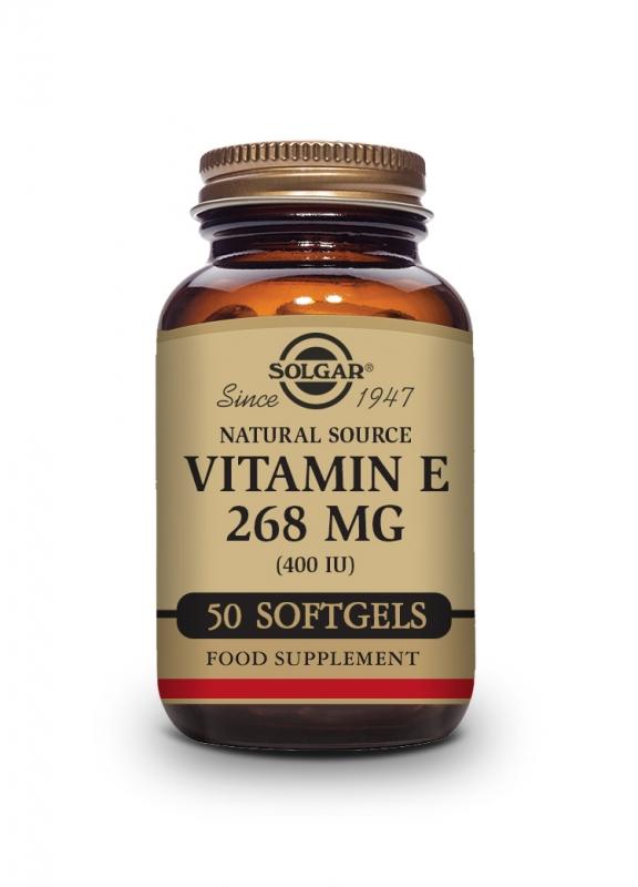 Produkty - Solgar Vitamín E 400 iu 50 cps
