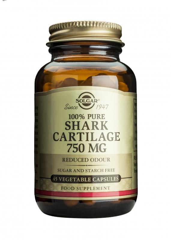 Produkty - Solgar Žraločí chrupavka 750 mg 45 cps
