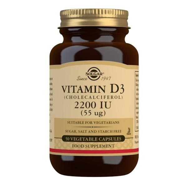 Produkty - Vitamín D3 2200 IU 50 cps