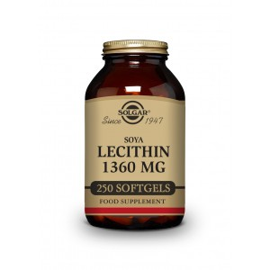 Solgar Lecitin 1360mg 250 cps